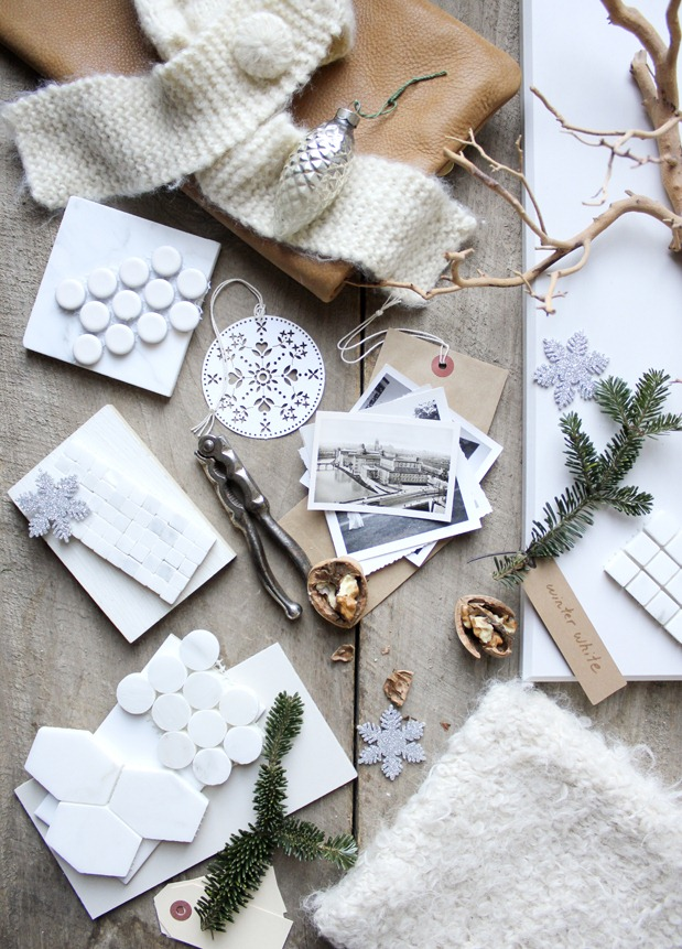 Mood Board Cozy White Decor