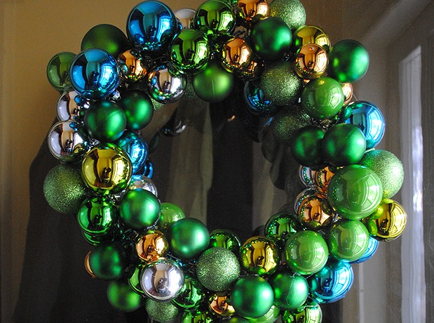Ornament Wreath Craft