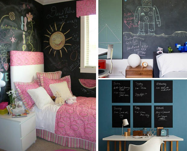Bedroom Chalkboard Wall