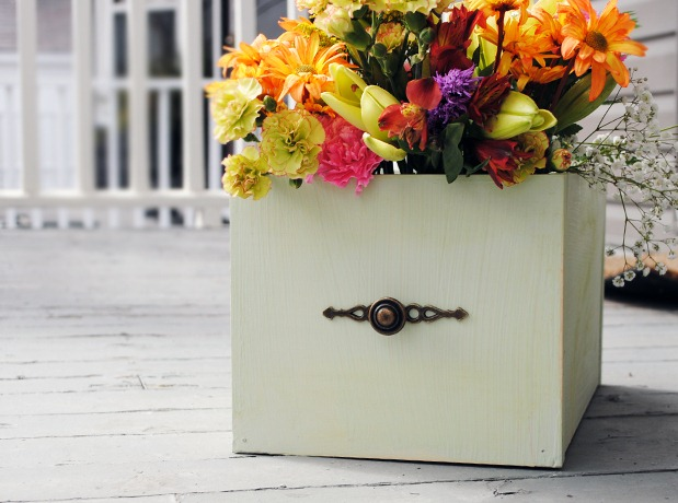 Painted-Flower-Box