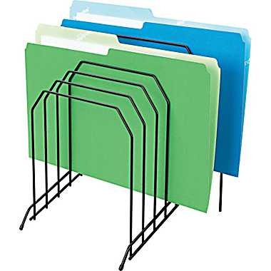 Wire Desk Step File Sorter, $11.91. Available at www.staples.ca