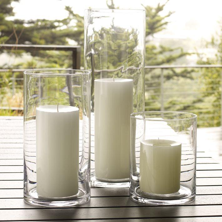 Свечи в вазах фото