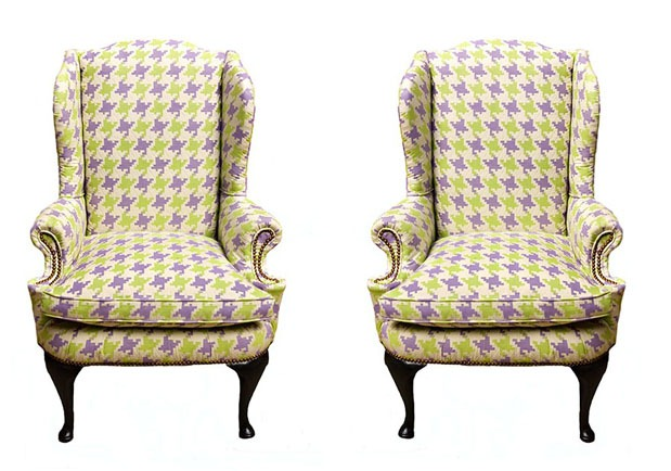 Houndstooth-Chairs