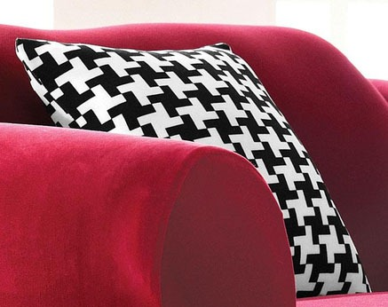 Houndstooth-Cushion-Slipcover