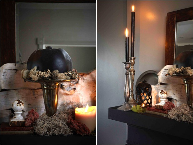 How To Design A Modern Gothic Mantel