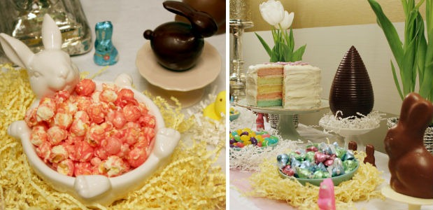 Easter Dessert Table Sweets