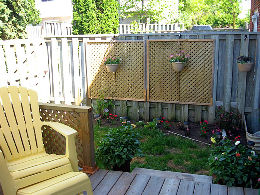 Townhouse privacy ideas joy studio design gallery best for Townhouse deck privacy ideas