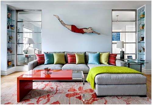 Art for Every Space: The Living Room Sofa