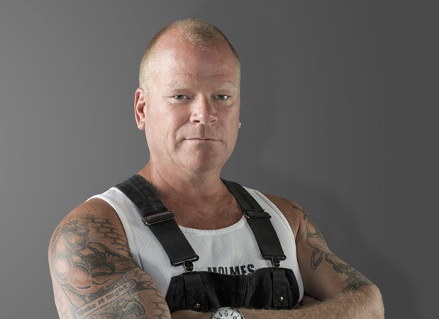 Successful television host Mike Holmes