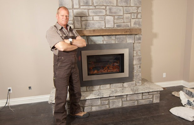 Improve House Appearance With Fireless Fireplace : Improve House Appearance With Fireless Fireplace : Mike Holmes ...