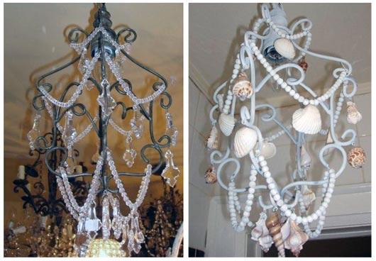 Behind the DIY Seashell Chandelier – Diy Shell Chandelier