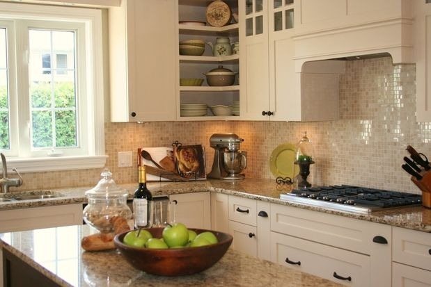 Buy Kitchen Countertops : Traditional kitchen by Sonya Kinkade Design