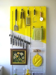 Repurposed Pantry Door