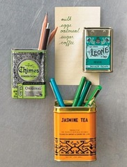 Tea Tin Magnets