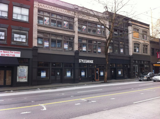 Canadian Success Story Stylegarage Opens In Vancouver S Gastown