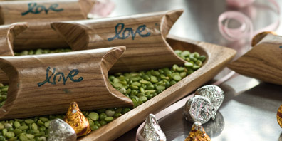 Chic 'Green' Wedding Favours