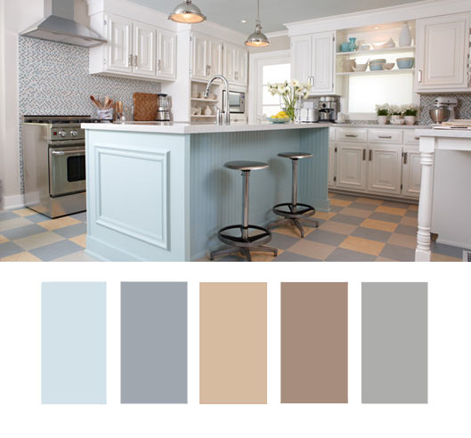 This Palette, Especially Mixed With Lots Of White, Works Really Well In A  Kitchen But Could Really Work In Any Room In The House. I Love The Idea Of  Using ... Part 31