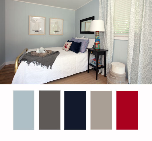 Colour Inspiration A Summer Home Bedroom
