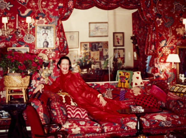 Diana Vreeland Living Room