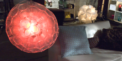 Cup Ball Light Fixture