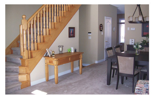 My Main Concern About Separating The Foyer From Living Room With Furniture Or A Half Wall Would Be Passage Way That Result Between Piece