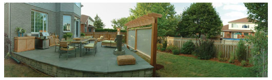 Garden Design Garden Design With The Patio Privacy Screens - Backyard privacy screen