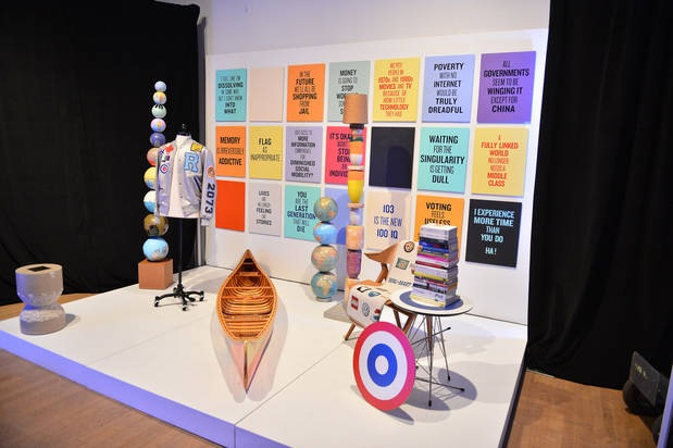 DX Intersection-Coupland exhibit