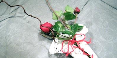 Dinner Décor Flower Arrangement