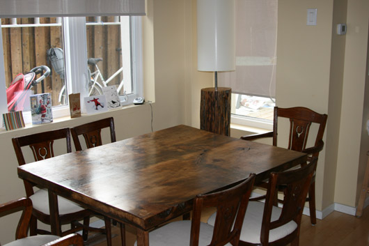 DIY Reclaimed Dining Room Table Top Little Experience Needed