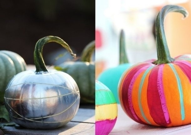 Painted Pumpkins-5