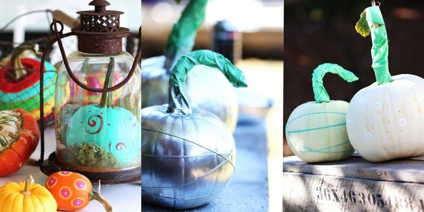 Painted Pumpkins-6