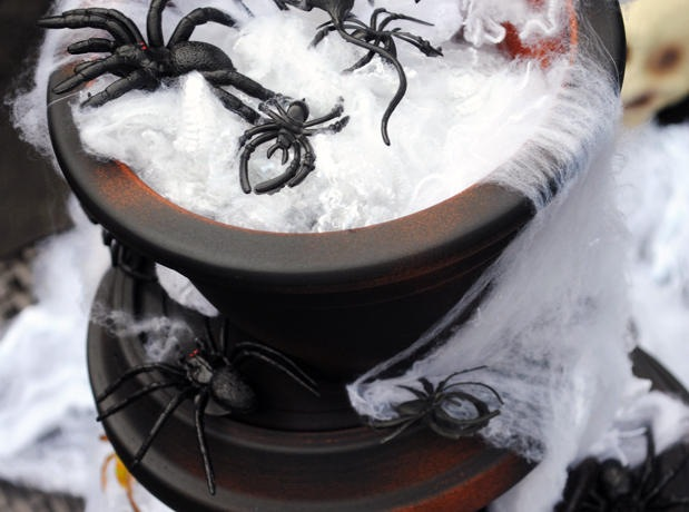 DIY Spider Fountain-anchor