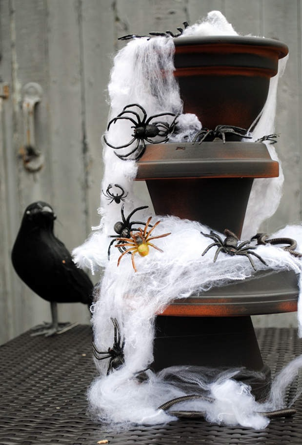 DIY Spider Fountain