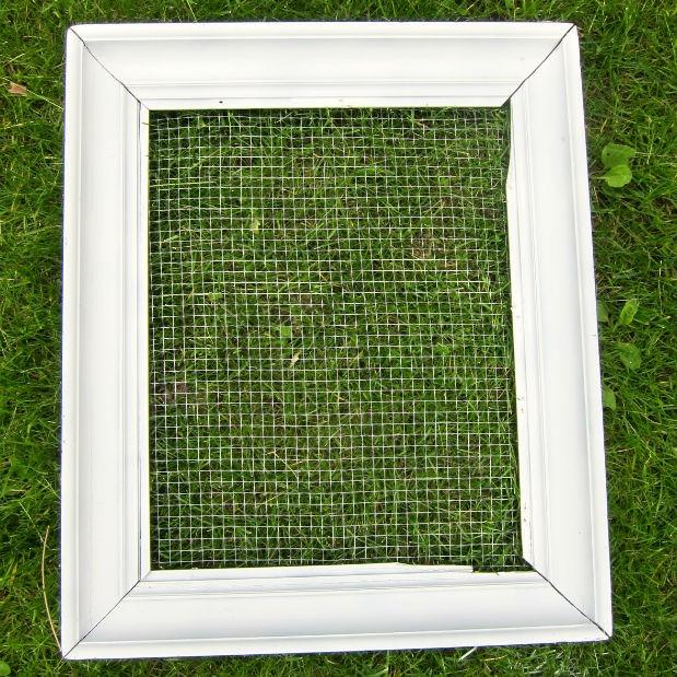 DIY Vertical Frame Garden
