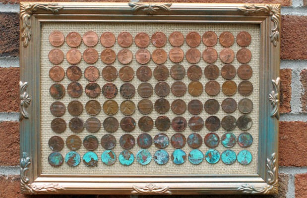 Pennies-Ombre-Art