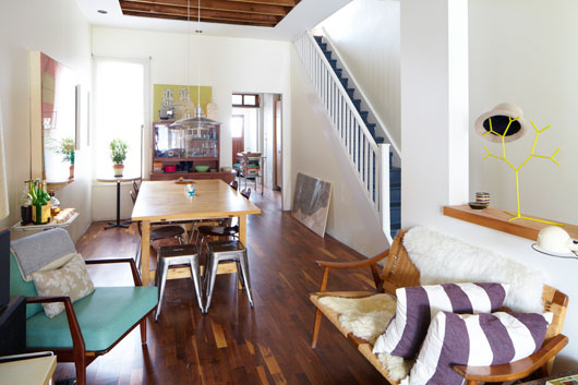 Original Home Tour Jenny Marc And Their Sunny Victorian Gut Job In Toronto