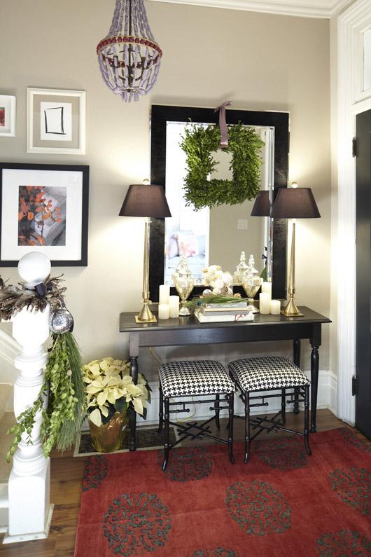 Holiday Home Tour Designer Meredith Herons Festive Decor
