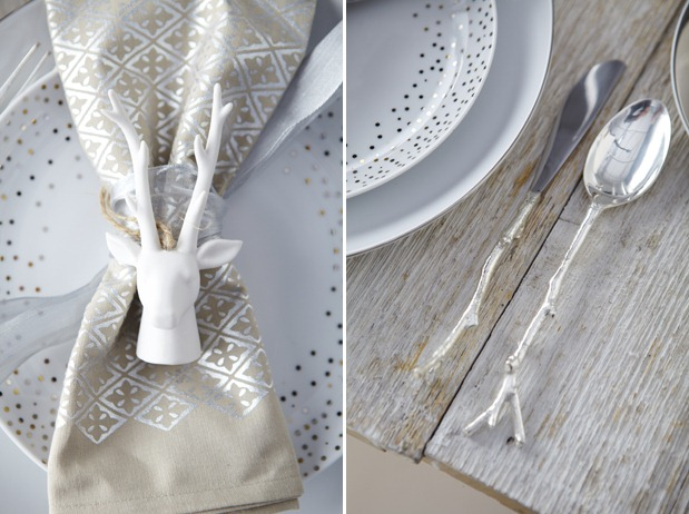 Holiday Table Settings Scandinavian Decor