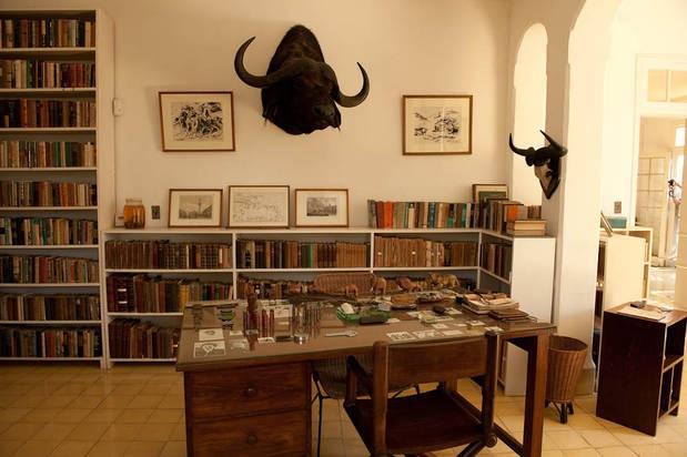Home Office-Ernest Hemingway