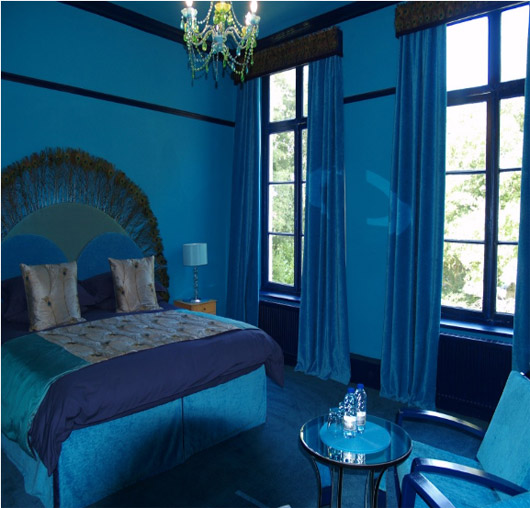 Lunchtime Fix 7 Blue on Blue Rooms Similar To Sarahs
