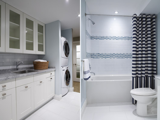 Bathroom laundry room combinations for Laundry in bathroom ideas