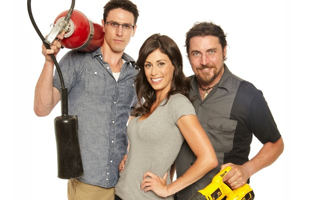 HouseHazardsHosts_FrancescaGarigue_DanDicaire_BrendanCallaghan_HGTV