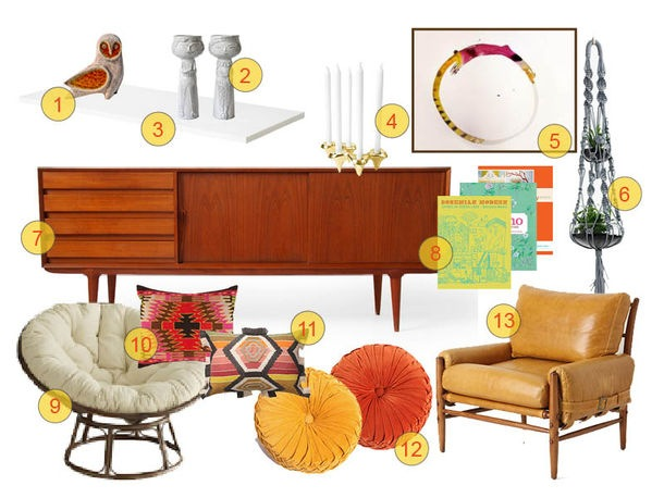Boho Modern Mood Board