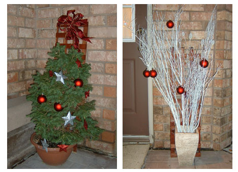 Modern Outdoor Holiday Decorating | Blog | HGTV Canada, 468x338 in 48