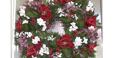 Mystical Magnolia Wreath