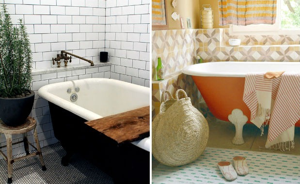 bathroom tile trends subway colour - Bathroom Tiles Trends 2013