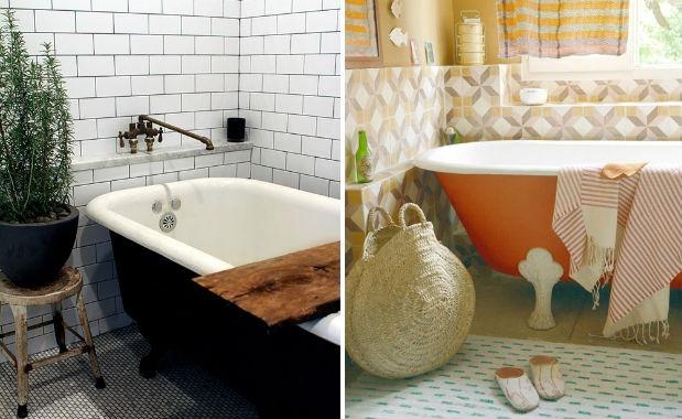 bathroom tile trends subway colour