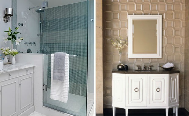 27 brilliant bathroom tiles latest for Latest trends in bathrooms