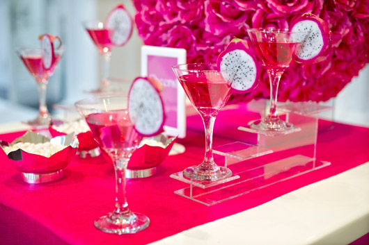 Party Idea Of The Month Fun Pink And White Holiday
