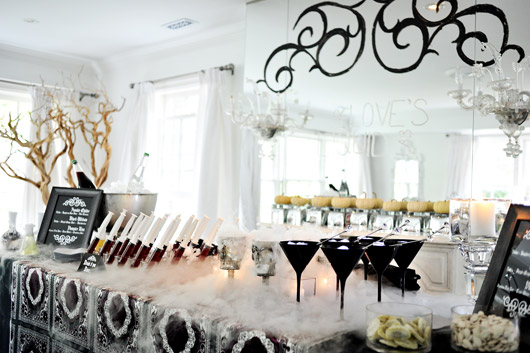throw a grown up halloween cocktail party. Black Bedroom Furniture Sets. Home Design Ideas